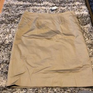 Limited tan skirt